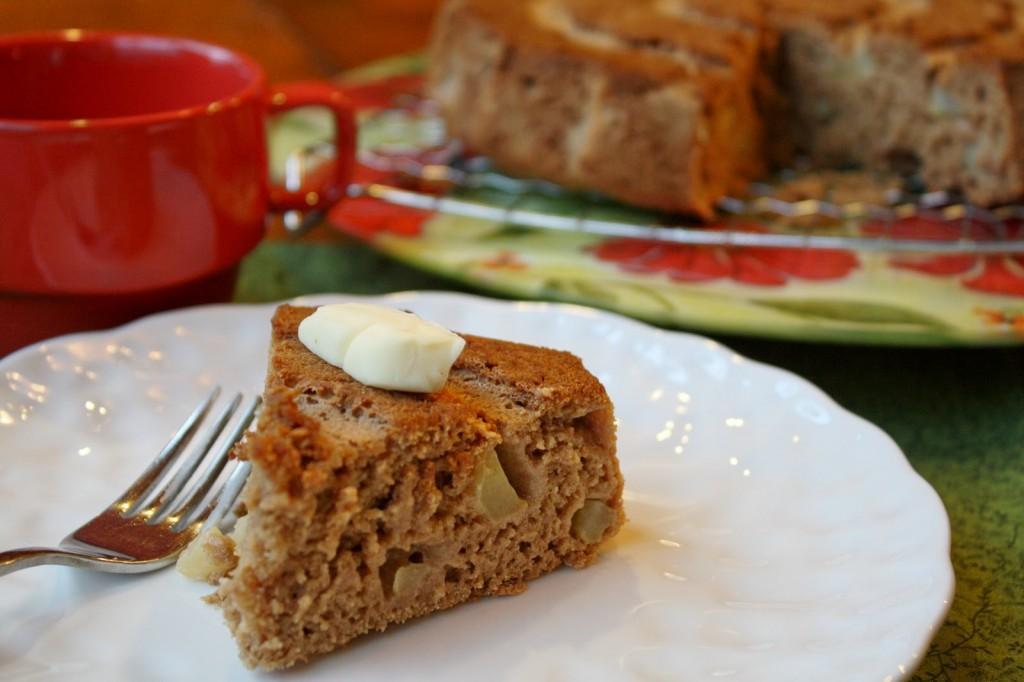 Apple Breakfast Cake - Gluten Free & Vegan