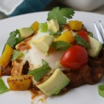 Quick Mexican Eggs for Dinner- Gluten & Dairy Free