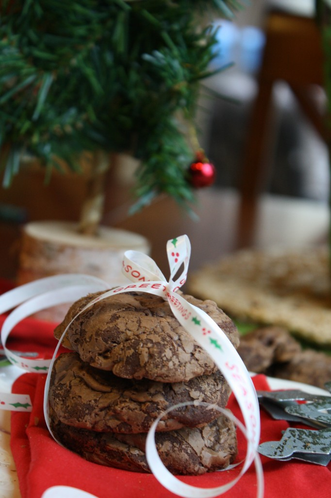 Dark Chocolate Truffle Cookies - Gluten & Dairy Free