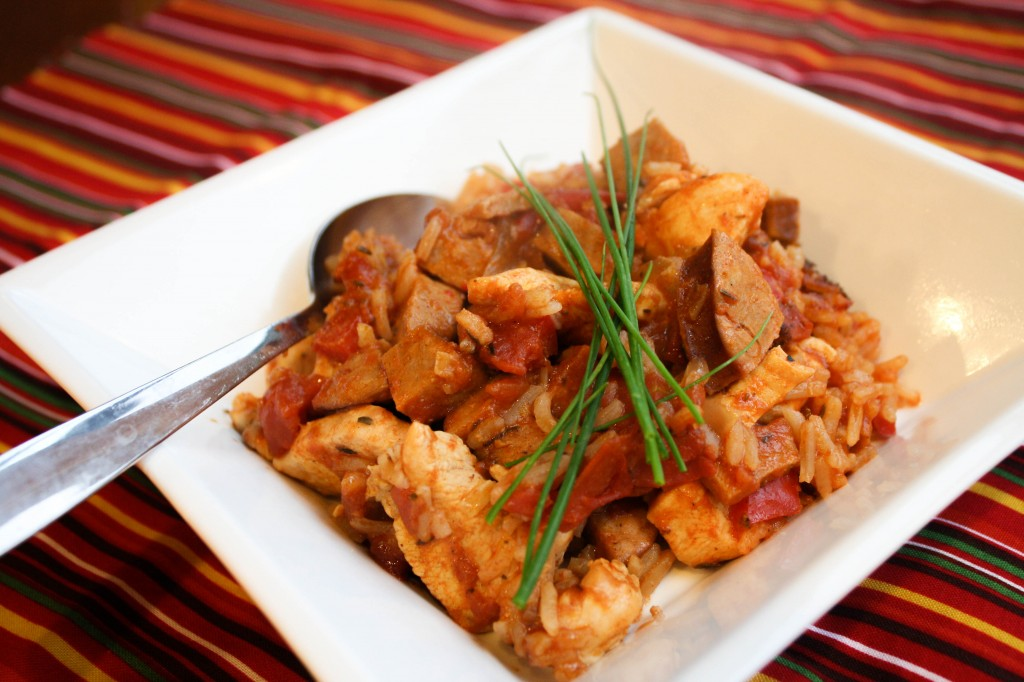Jambalaya - Cajun Chciken, Rice & Sausage - Gluten Free!-8035