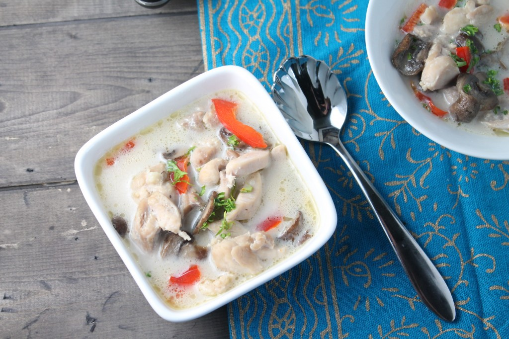 Easy Thai Chicken Soup - paleo
