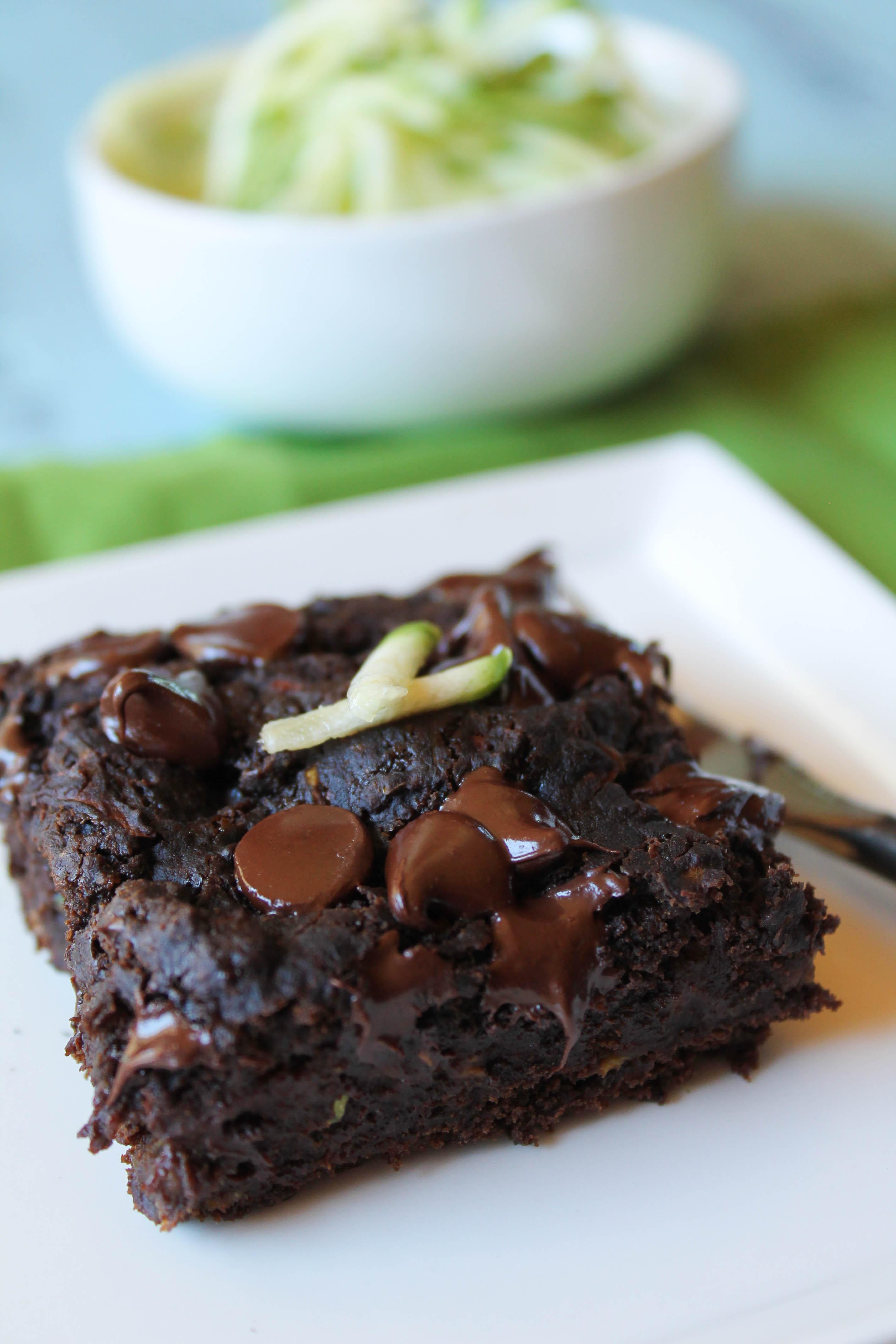 Chocolate Zucchini Cake – Gluten Free & Vegan