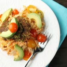 Thai Mung Bean Felafels – Grain Free, Gluten Free & Vegan