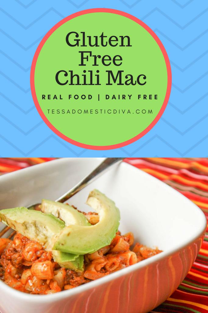 Gluten Free | Dairy Free Chili Mac