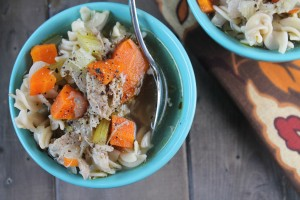 Quick & Easy Homemade Chicken or Turkey Soup