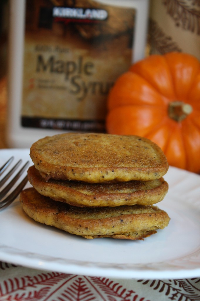 Gluten Free &amp; Vegan Pumpkin Pancakes