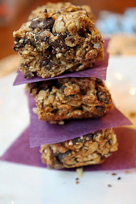 heavenly Gluten Free Vegan Granola Bars