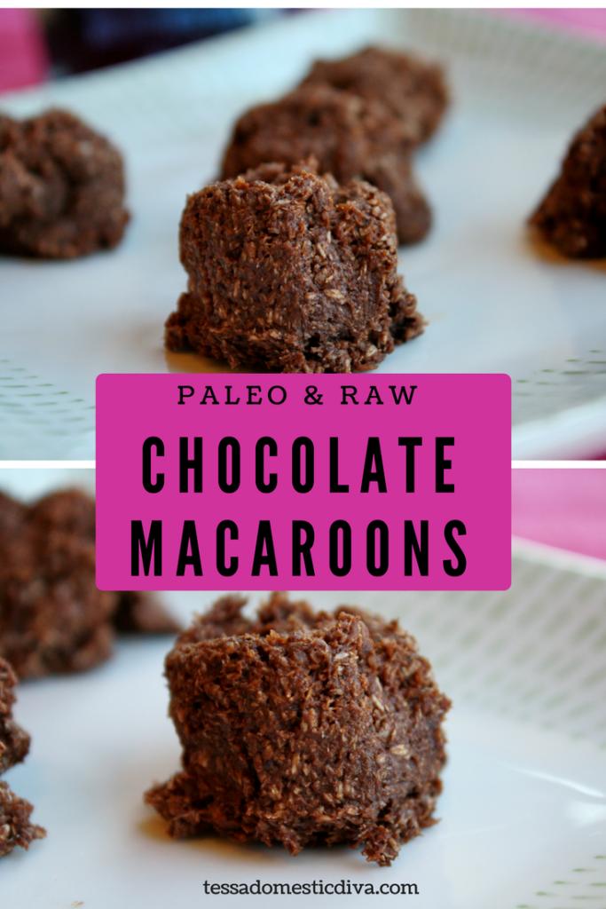 Paleo & Raw Chocolate Macaroons