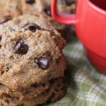 Flourless, Date Sweetened Chocolate Chip Cookies