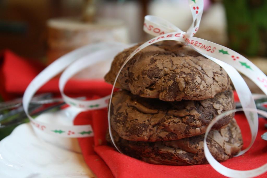 Dark Chocolate Truffle Cookies - Gluten Free & Dairy Free