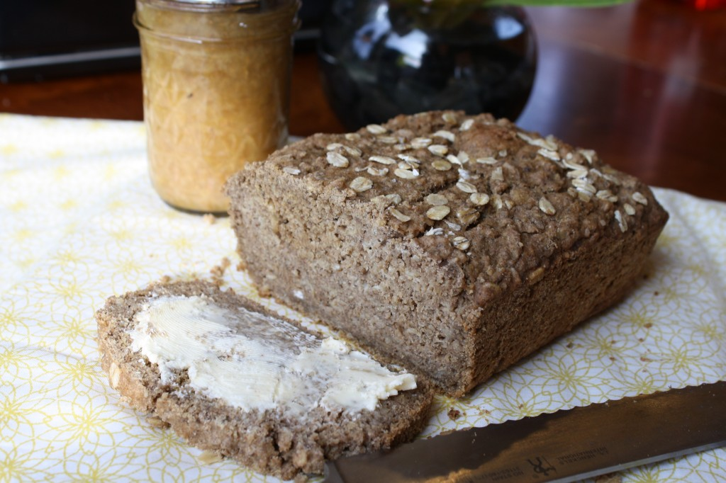 Sweet Brown Oatmeal Bread - Gluten Free & Vegan