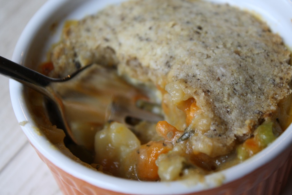 Root Vegetable Chicken Pot Pie - Gluten & Dairy Free