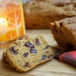 Pumpkin Cranberry Bread – Gluten Free & Vegan