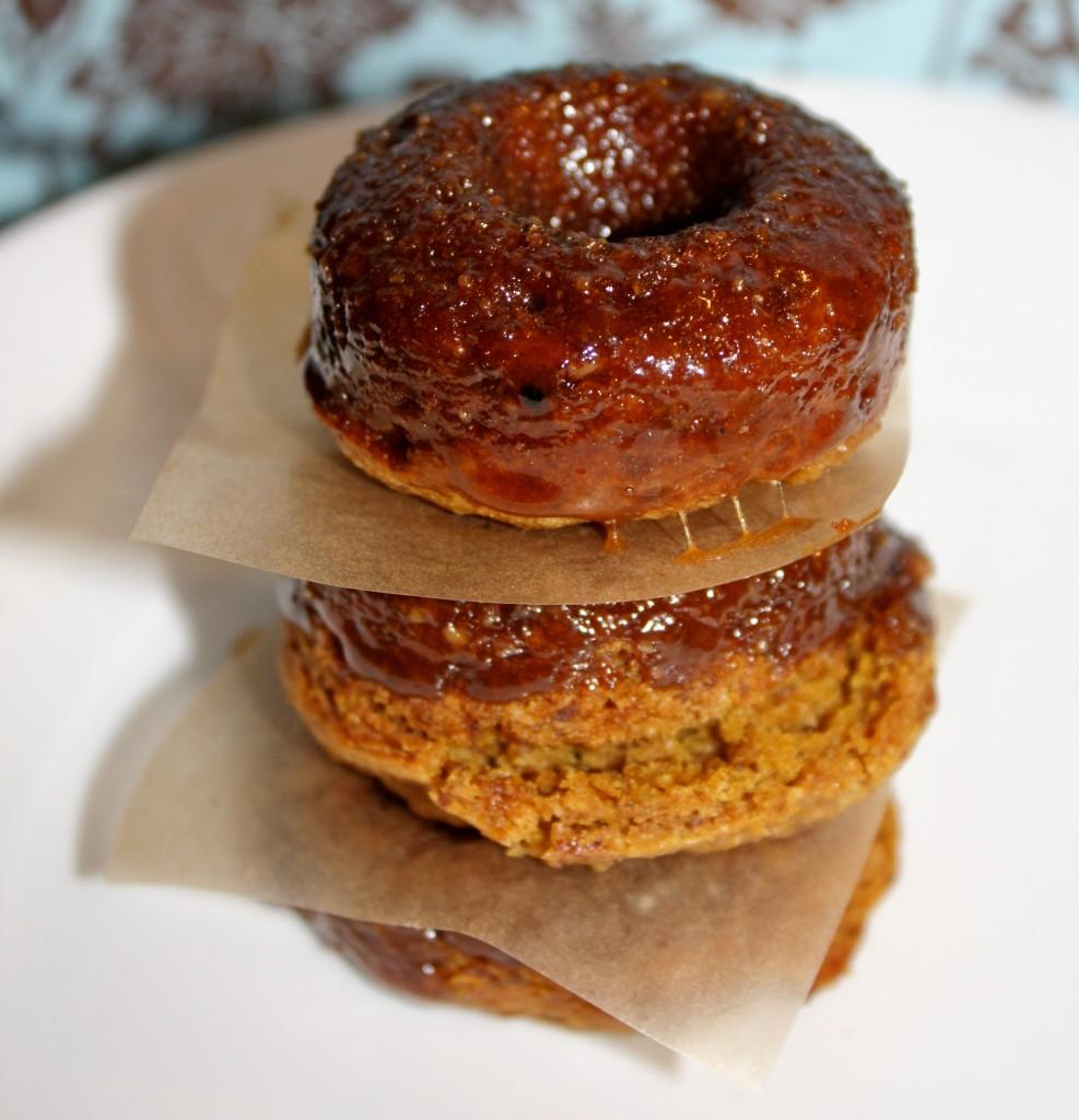 Healthy Pumpkin DOnuts - Gluten Free & Vegan