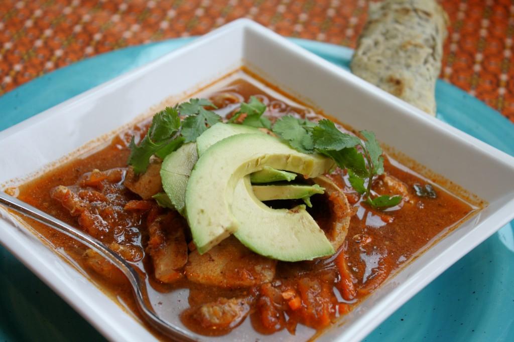 Easy Mexican Tortilla Soup - Gluten & Dairy Free