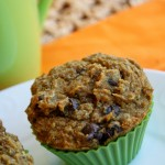 Pumpkin Chocolate Chip Muffins – Gluten Free & Vegan