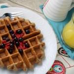 Banana & Cinnamon Waffles – Gluten Free & Vegan