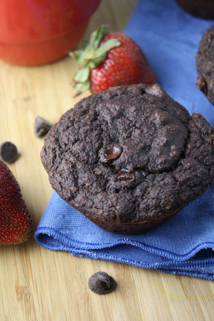 Double Chocolate Muffins/Cupcakes - Gluen Free & Vegan