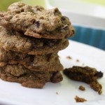 Wholegrain Tollhouse Chocolate Chip Cookies – Gluten Free, Vegan, & Sugar-Free