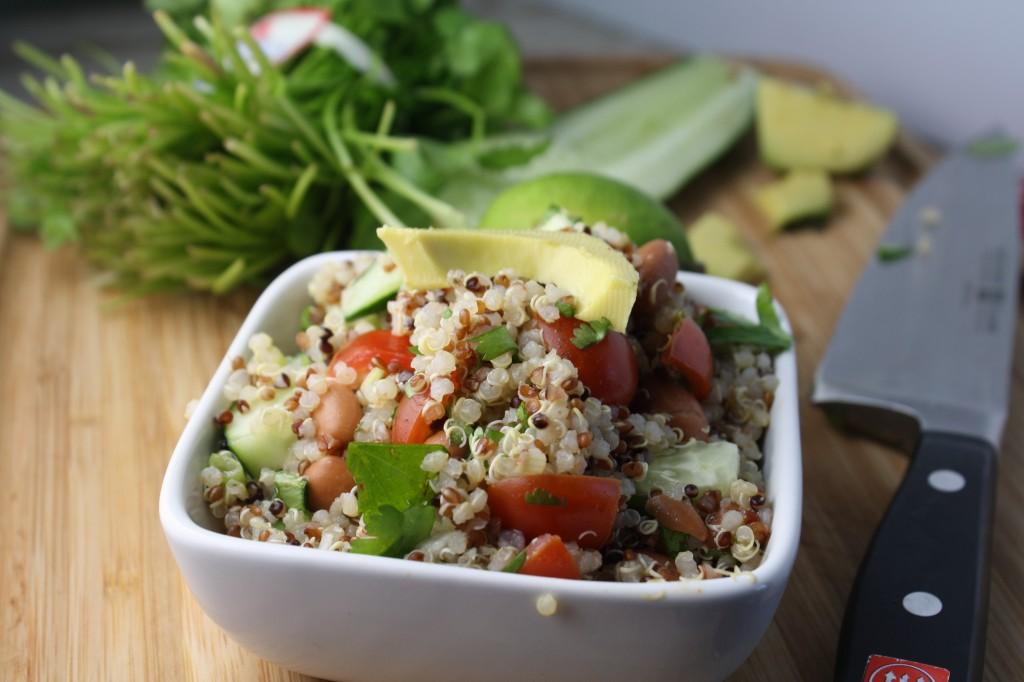 Mexican Quinoa Salad - Gluten & Dairy Free