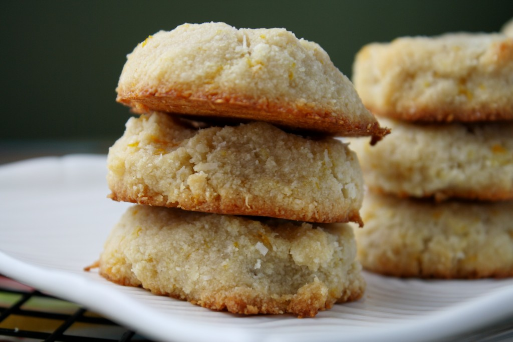 Orange Almond Cookies - #PALEO & #VEGAN #lowcarb