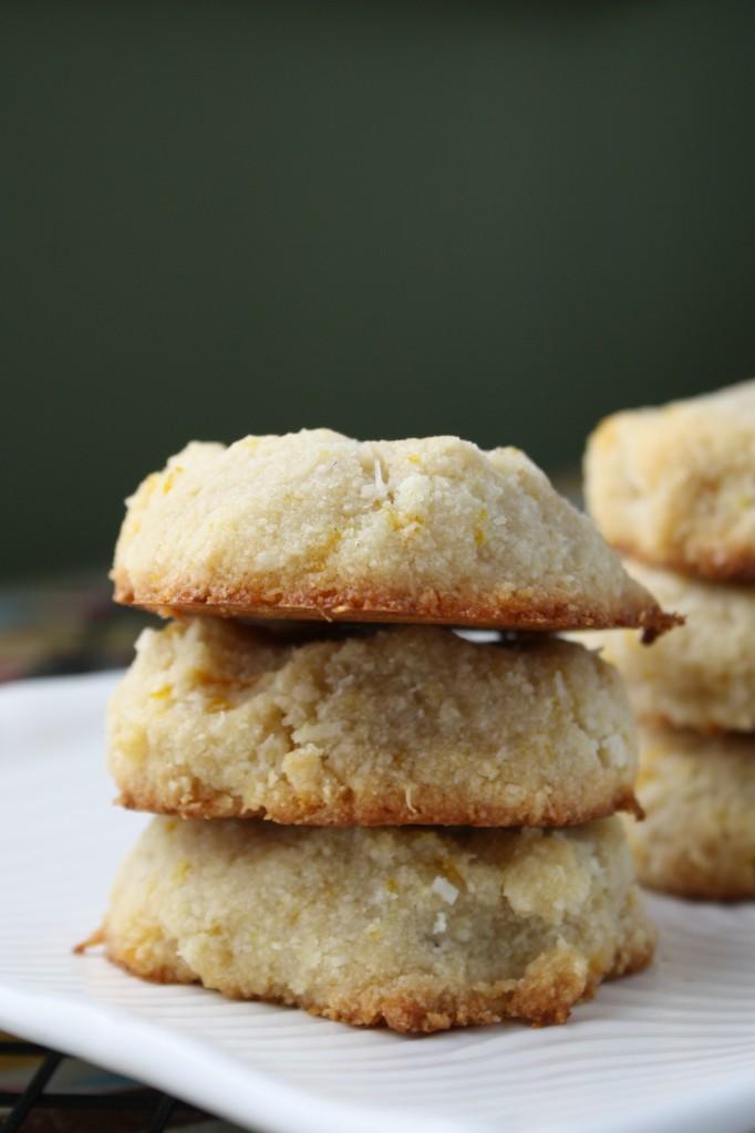 Grain & Egg Free Orange Almond Cookies