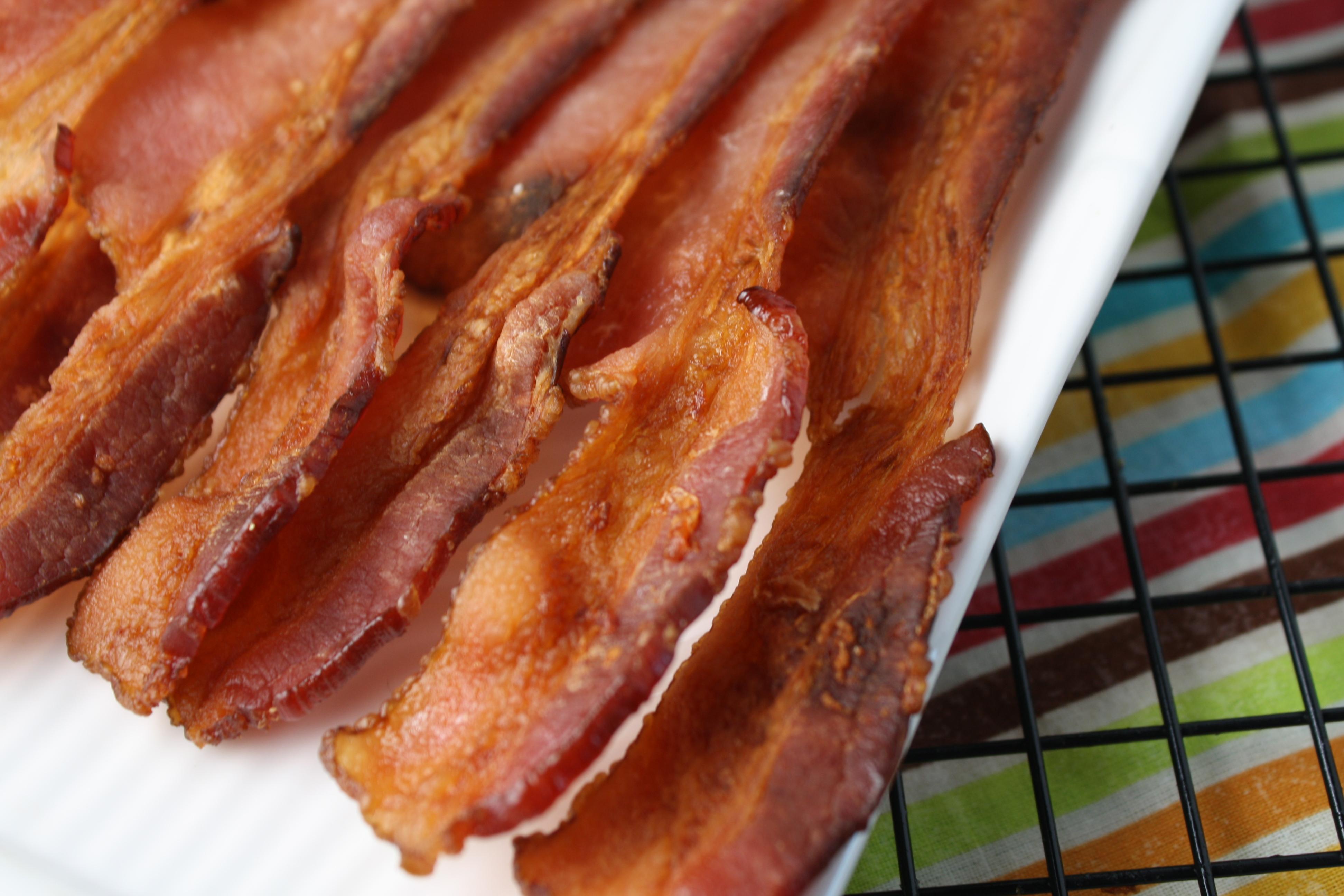 Perfect crispy bacon the easy way tessa the domestic diva crispy bacon the easy way ccuart Images