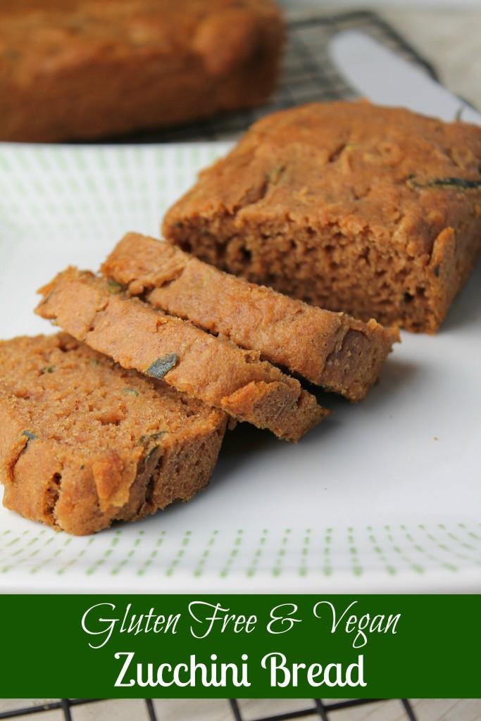 Gluten Free & Vegan Zucchini Bread