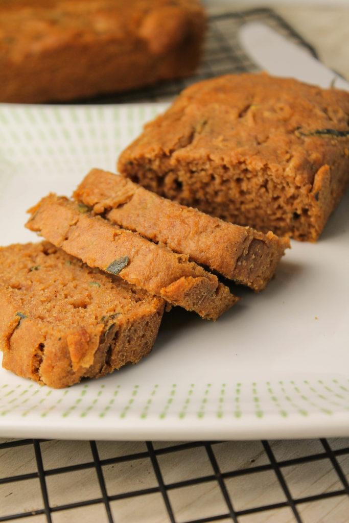 Zucchini Bread - Gluten Free | Vegan