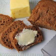 Healthier Zucchini Bread – Gluten Free & Vegan