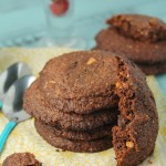 Vegan & Paleo Nutella Cookies