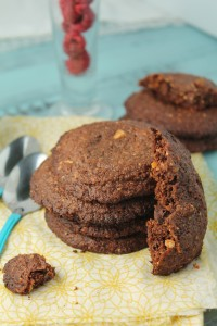 Paleo Vegan Nutella Cookies