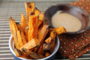 oven baked sweet potatoe fries