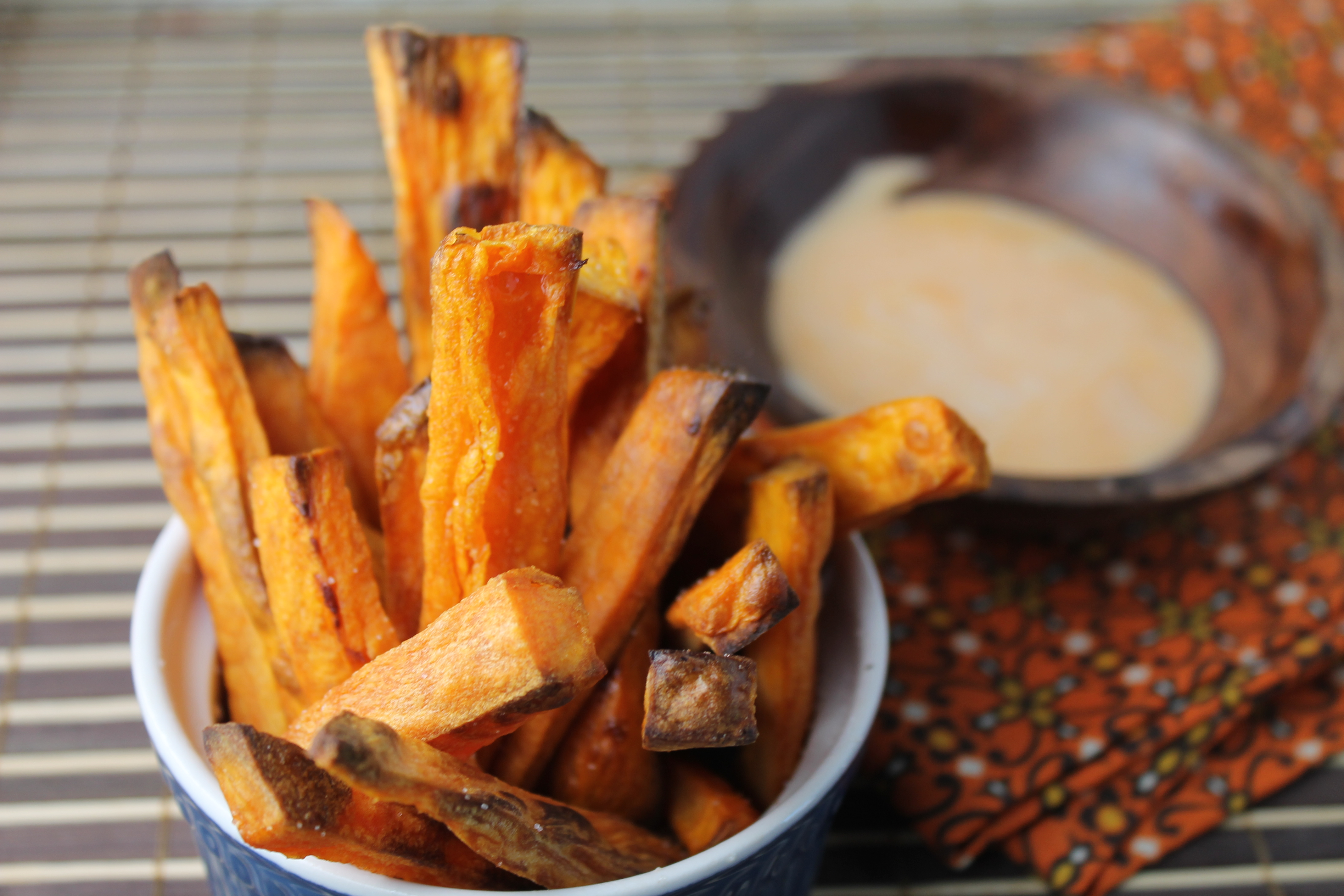 Crispy Paleo Oven Baked Sweet Potato Fries
