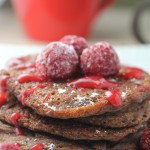 Pumpkin Chocolate Pancakes