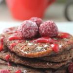 Pumpkin Chocolate Pancakes