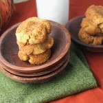 Pumpkin Snickerdoodles - Paleo, Grain-Free, &amp; Vegan