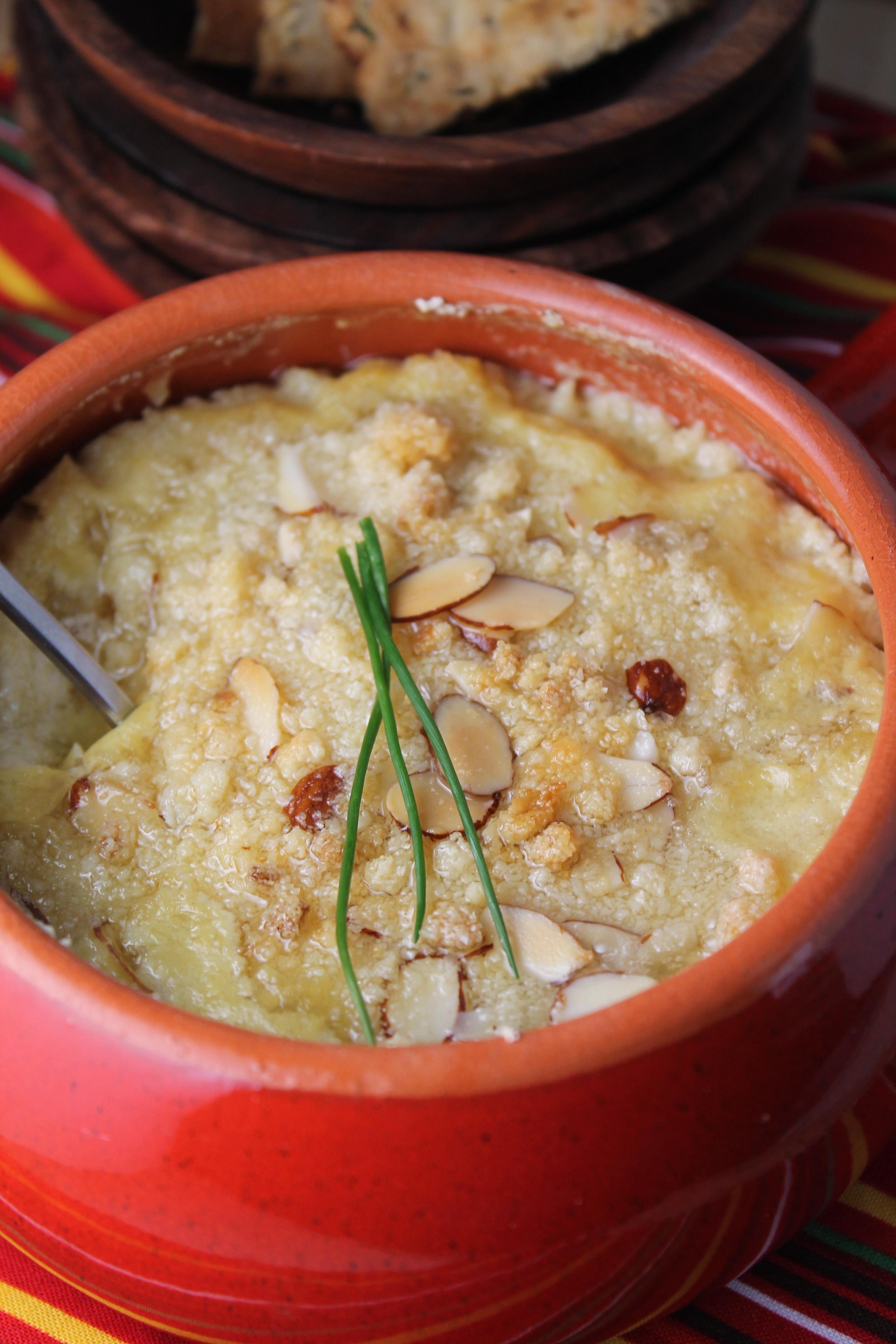 Creamy Hot Artichoke Dip – Dairy Free & Paleo | Tessa the Domestic ...
