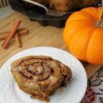 Gluten Free Vegan Pumpkin Cinnamon Rolls