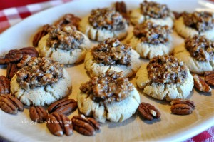 Guilt-Free Pecan Pie Cookies (grain free/vegan)