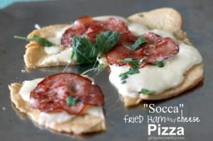 Socca Pizza (gluten free)