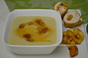 Sweet & Spicy Parsnip Soup (paleo)