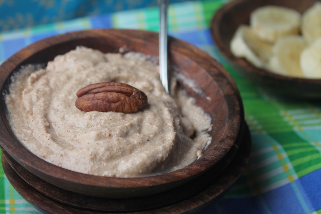 Creamy Maple Nut Porridge - PALEO