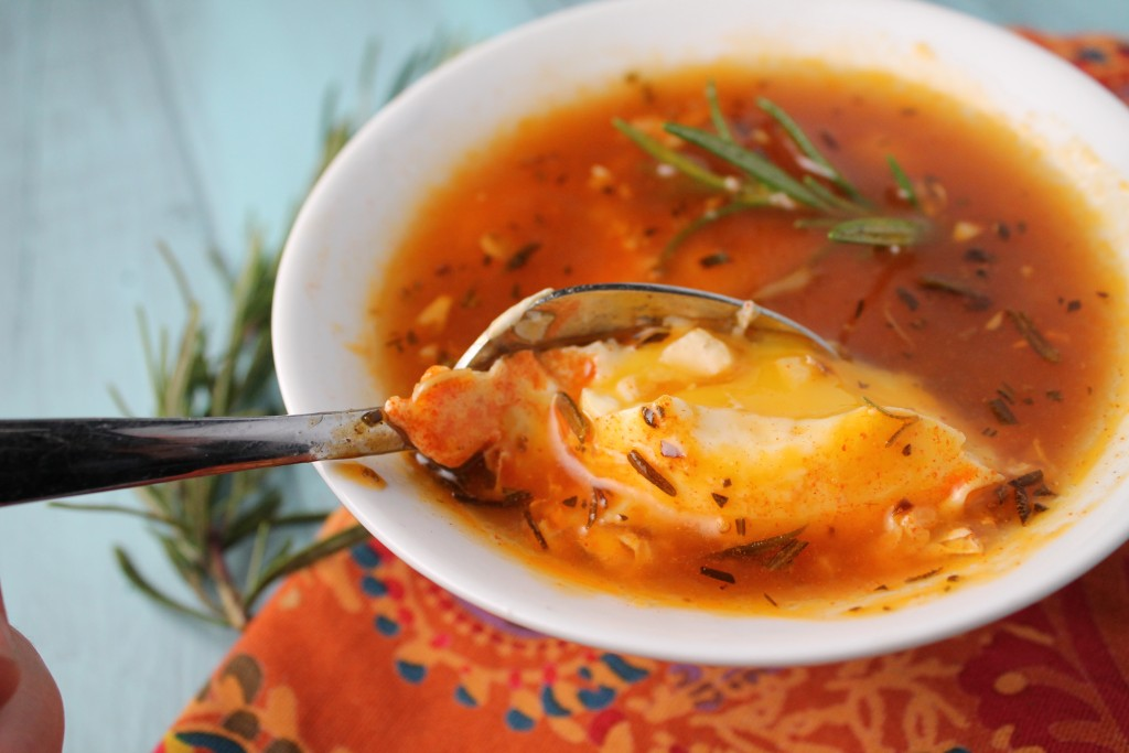 Spanish Egg Soup - Fast | Paleo | Keto | Whole 30