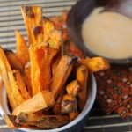 Crsipy Paleo Oven-Baked Sweet Potato Fries