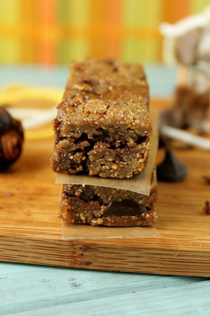 Sunflower Chocolate Chip Lara Bars - #paleo #whole30
