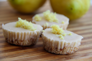 Paleo Melt in Your Mouth Lemon Cups
