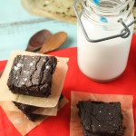 Dense & Fudgey Chocolate Brownies – Paleo, Vegan & Nut Free!