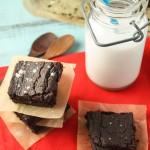 Dense & Fudgey Chocolate Brownies – Paleo, Vegan & Nut Free!