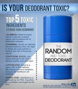 Homemade Non-Toxic Deoderant